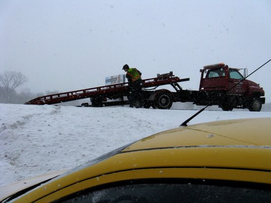 Car in ditch 3