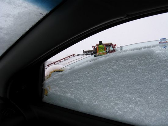 Car in ditch 6