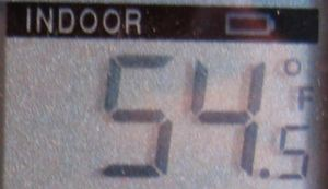 Temp indoor