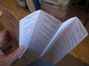Sheet fold