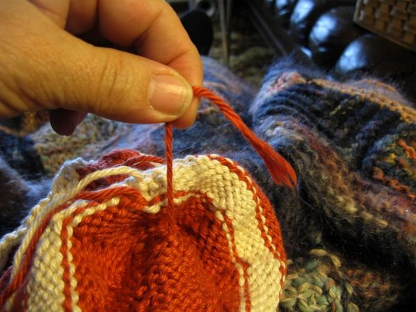 Yarn end