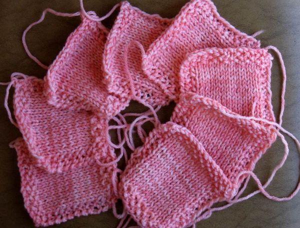 Squares, pink
