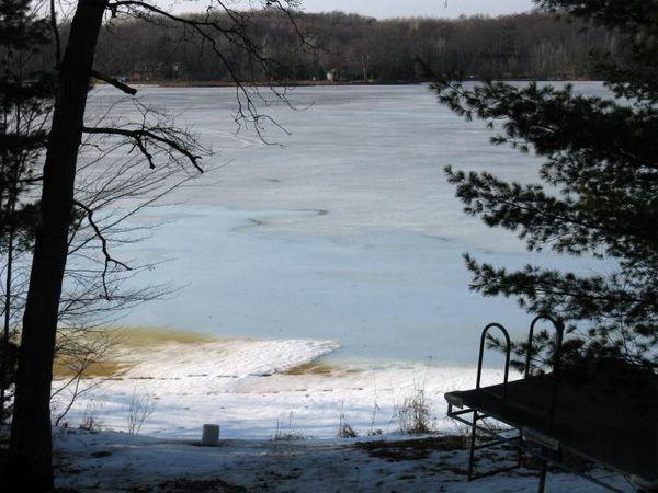 Dirty lake