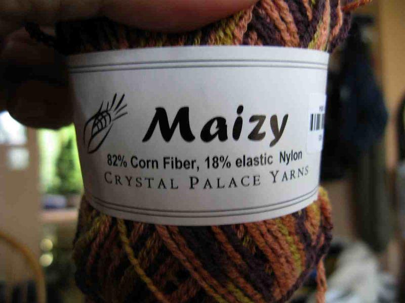 Corn yarn