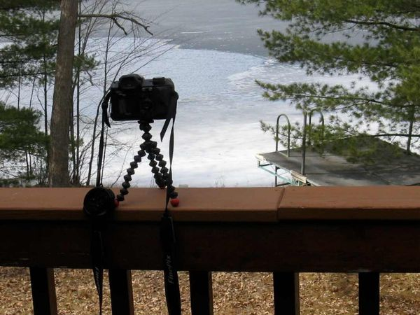 Camera gorillapod