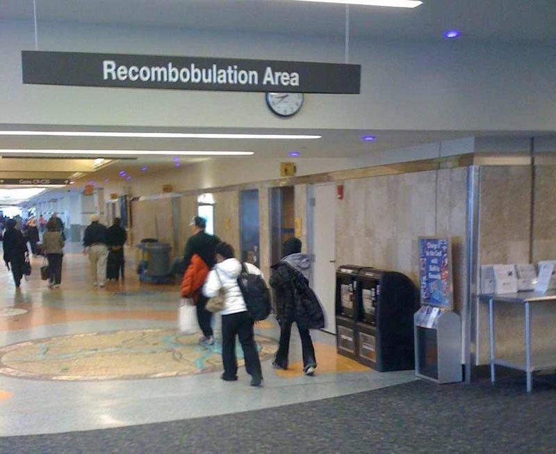 Recombobulation area