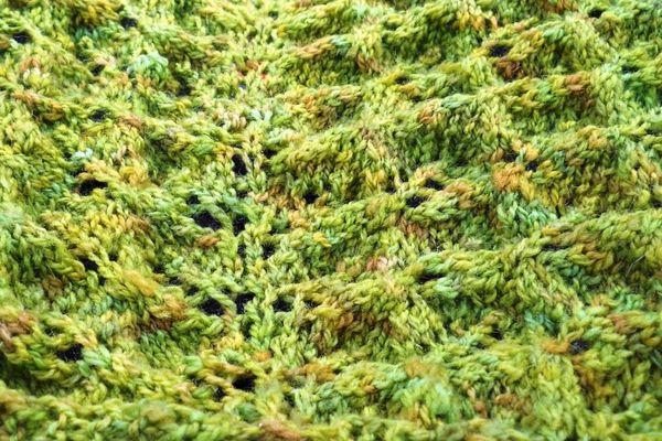 Lace shawl of doom