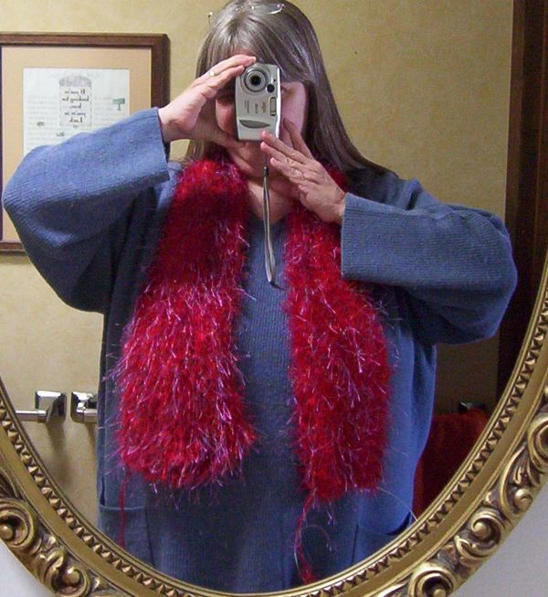 Sharon scarf partial on