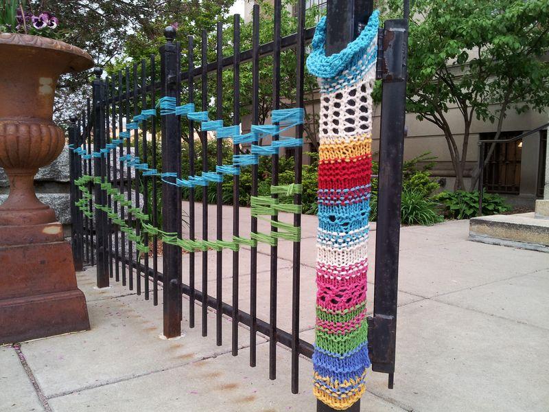 Yarn bomb 1