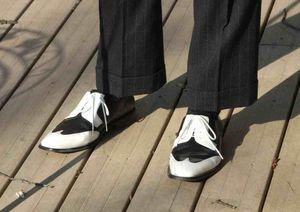 M shoes b&w
