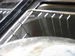Dish drainer web