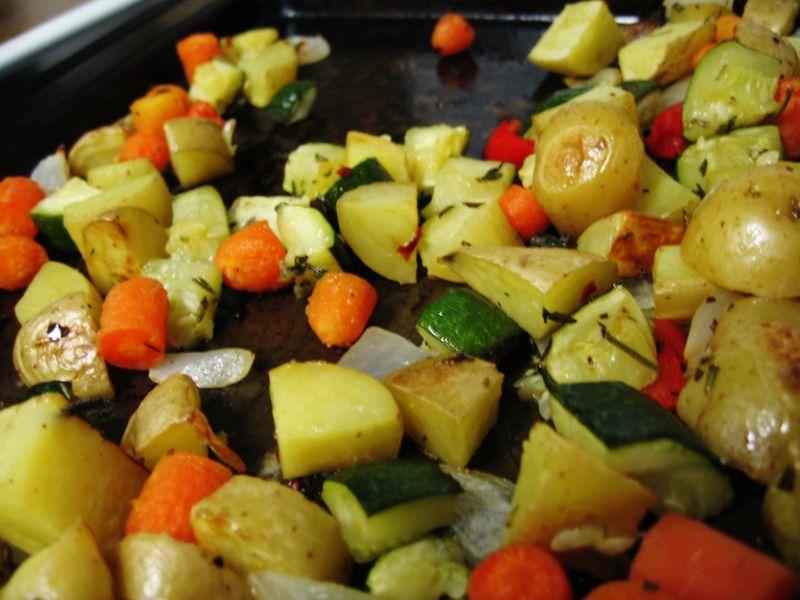 Roasted veg