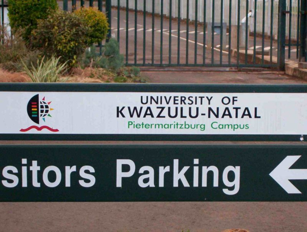 UKZN (you-kay-ZED-en) in Pietermaritzburg is where he went to school.