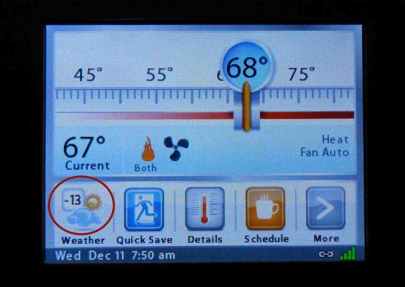Thermostat -13