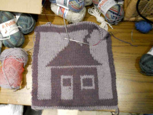 Double knitting...