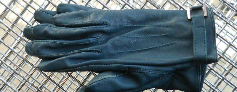 Glove blue