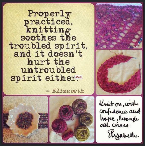Knitting header