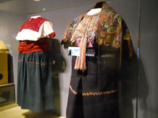 Comtemporary Maya dress.