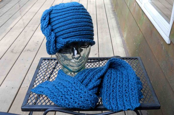 Hat scarf