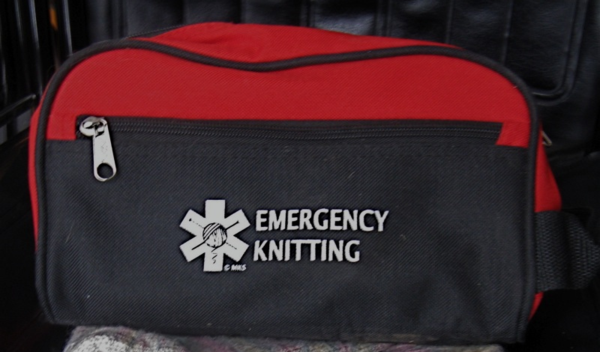 Emergency knitting kit