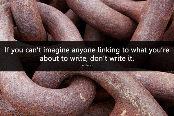 Links words