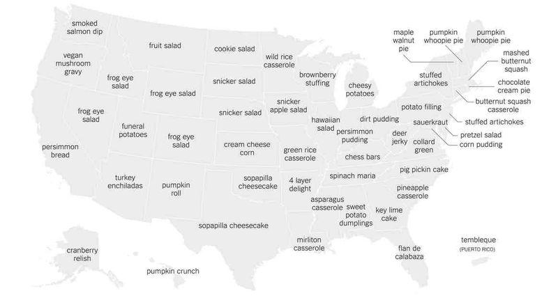 Most googled Thankgiving recipes