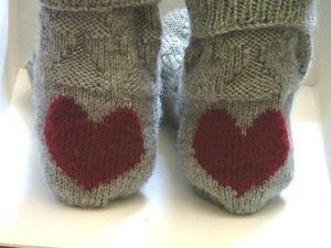 Heart socks 2