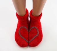 Heart socks 6