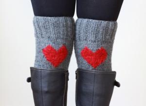 Heart socks 7