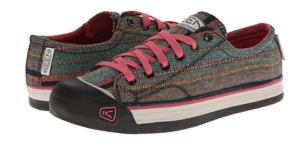Mine are camo & ticking and have Velcro instead of laces. Found them via Kym.