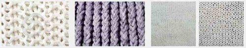 White knitting