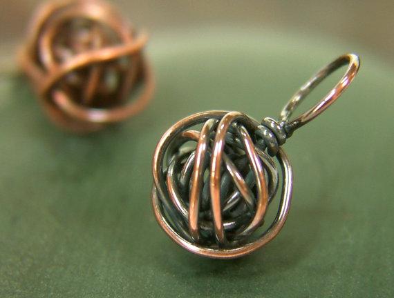 Copper yarn ball