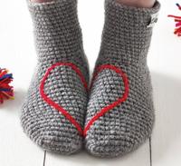 Heart socks 5