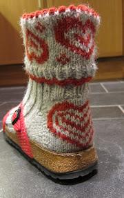 Heart socks 9