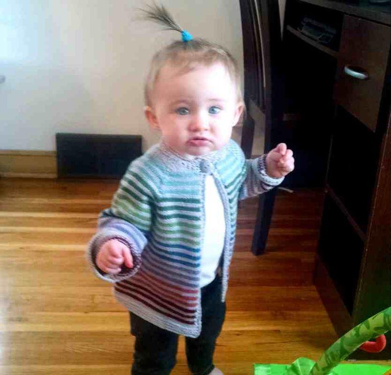 Abby & sweater