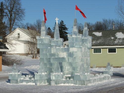 Luck ice palace, 2008
