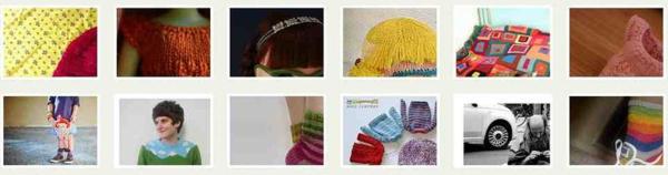 Knitting pins