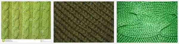 Green knitting 1