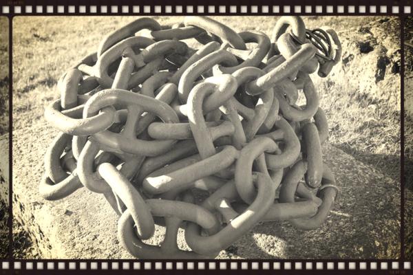 Ball of chain