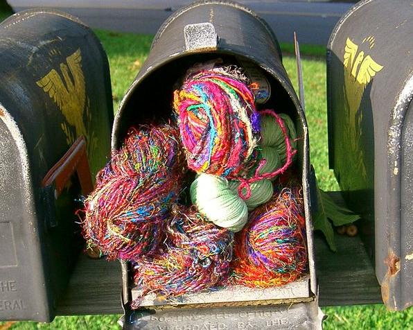 Mailbox yarn