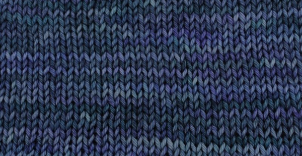Stockinette blue