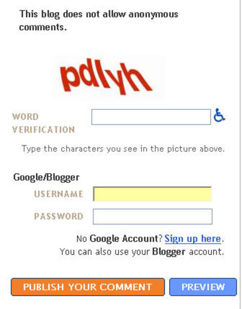Bloggergoogleaccount