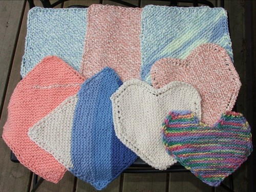 Facecloths for Rabbitch's women