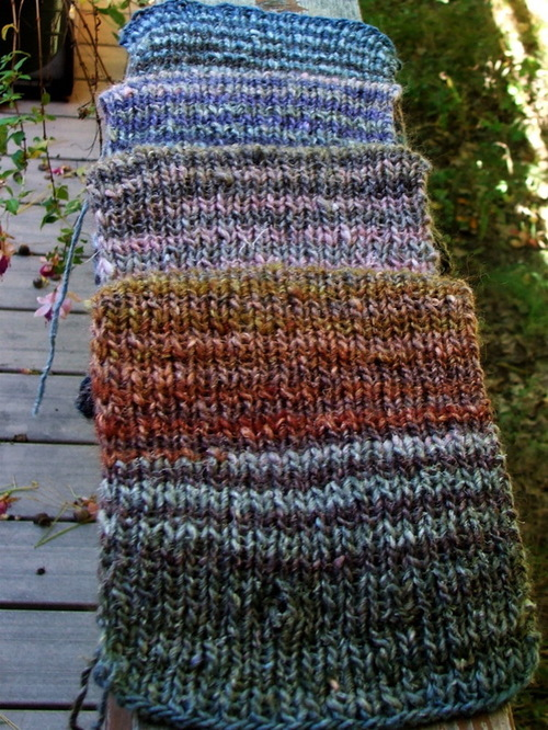 Noro scarf for Brenda